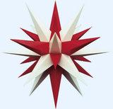 13 cm rood/wit