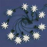 Sterrenketting met 10 sterren voor binnen en buiten (met LEDlamp)_