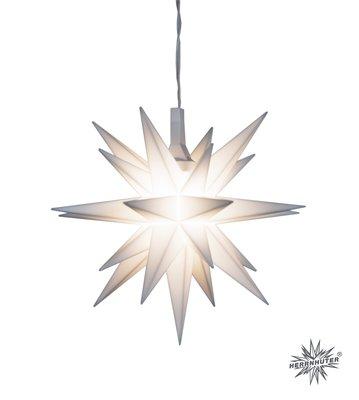 Mini-ster; kunststof; 8 cm; wit