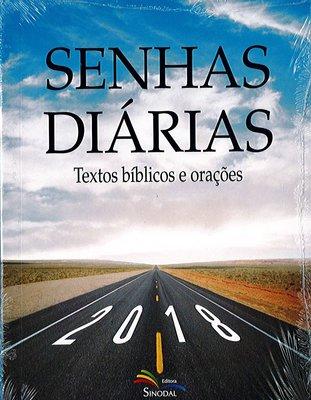 Senhas Diárias 2018 (Portugees)