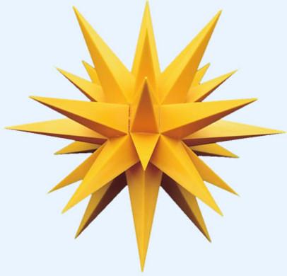 13 cm geel