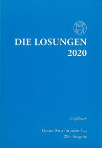Die Losungen 2020 (grootdruk, Duits)