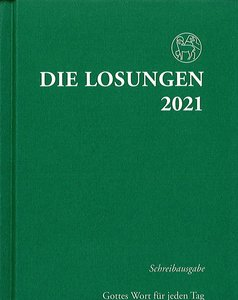 Die Losungen 2021 (schrijfuitgave, Duits)