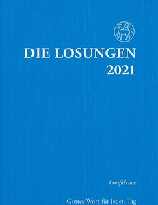 Die Losungen 2021 (grootdruk, Duits)